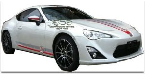 CSC_Window_Tinting_Toyota_86_Custom_Dual_Colour_Stripe_Decal
